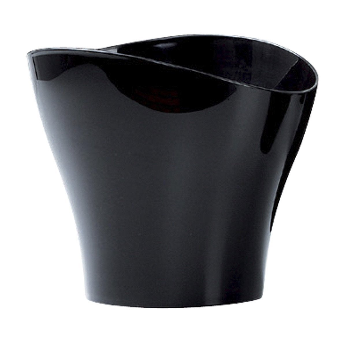cache pot en plastique scheurich diam 17 x haut 14 cm noir leroy merlin. Black Bedroom Furniture Sets. Home Design Ideas
