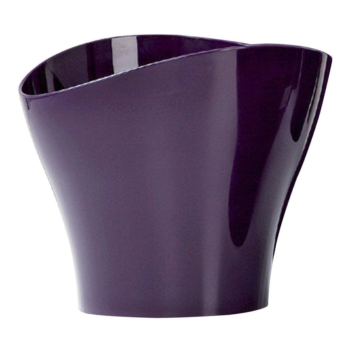 Cachepot polypropylène SCHEURICH Diam17 x H14 cm violet