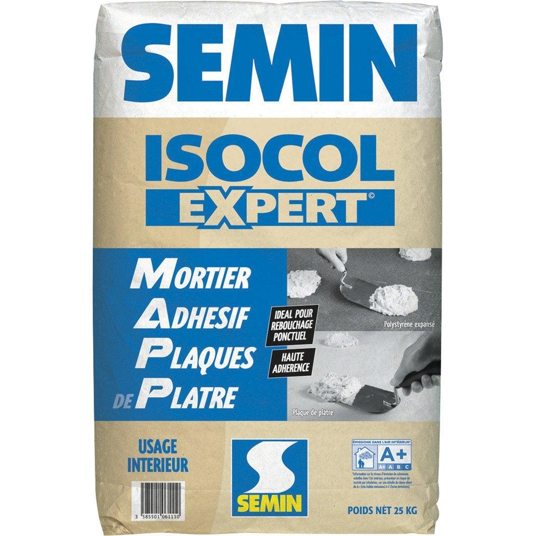 mortier adh sif isocol semin 25 kg leroy merlin. Black Bedroom Furniture Sets. Home Design Ideas