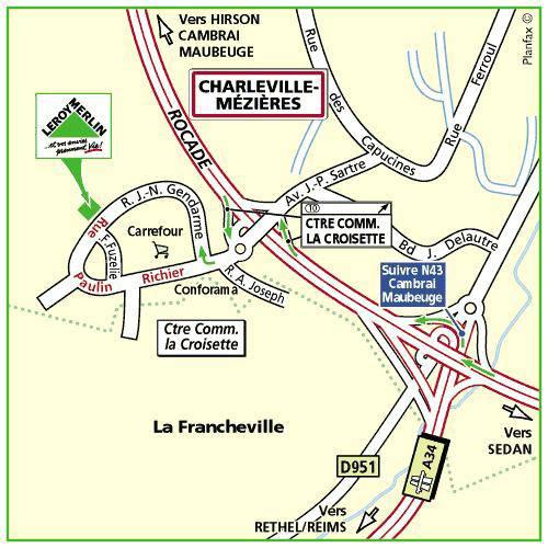 Charleville m zi res magasin de bricolage outillage jardinage d coration leroy merlin - Leroy merlin charleville ...