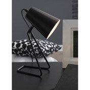 Lampe Moeta INSPIRE, métal noir, 40 W