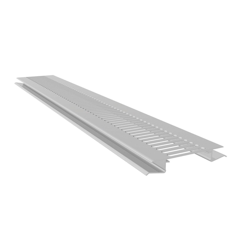 ventilation long 1 m pour sous face de toiture freefoam blanc leroy merlin. Black Bedroom Furniture Sets. Home Design Ideas