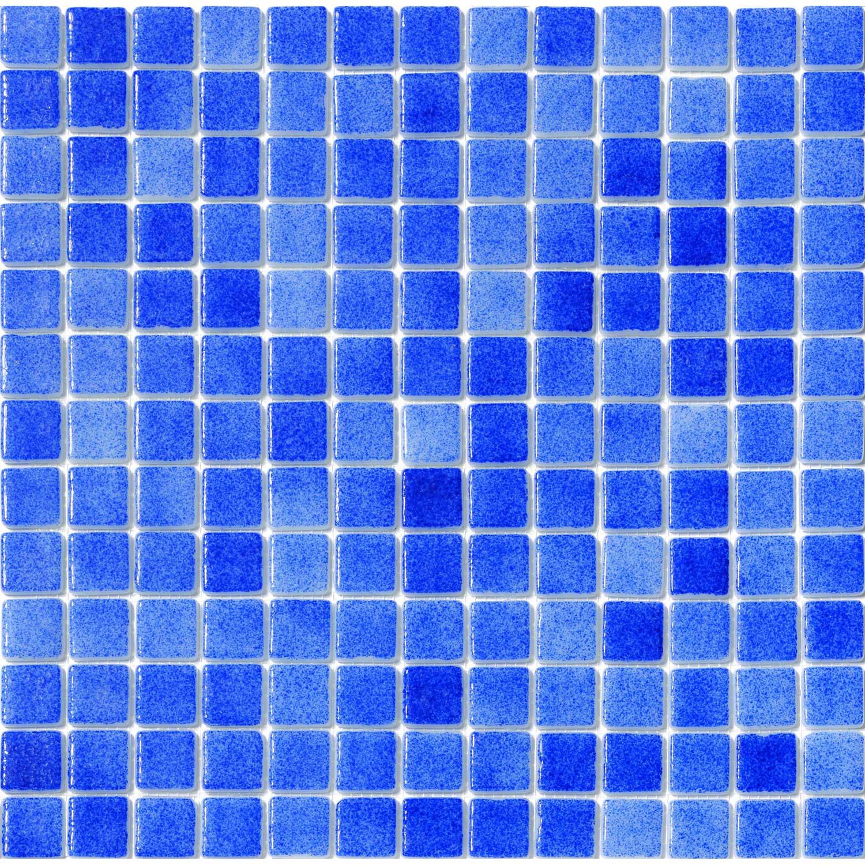 Mosa que matisse cobalt bleu leroy merlin for Mosaique piscine leroy merlin