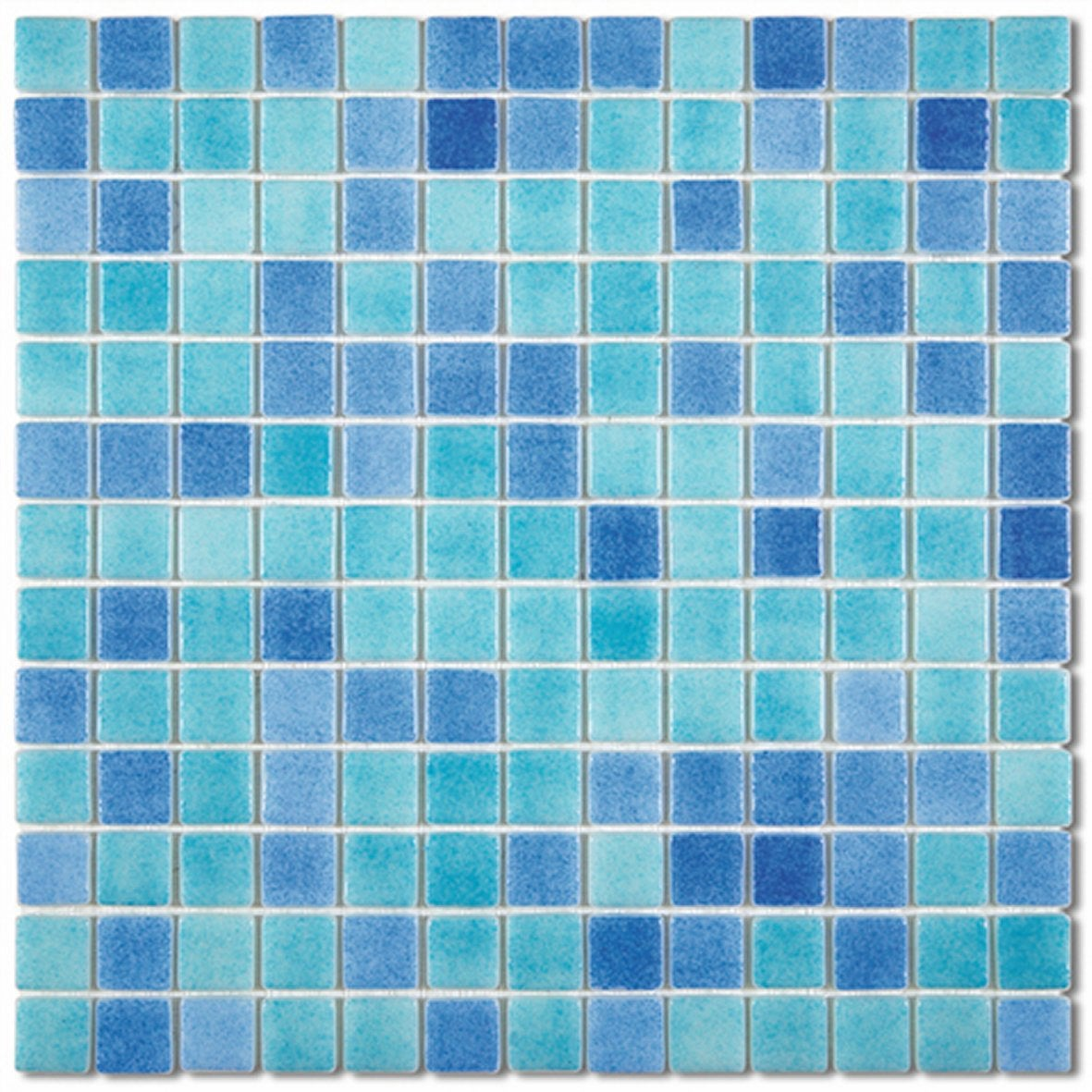 Mosa que matisse fresco bleu leroy merlin for Mosaique carrelage leroy merlin