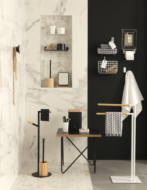 Accessoires de salle de bain poser et fixer for Accessoire de salle de bain design