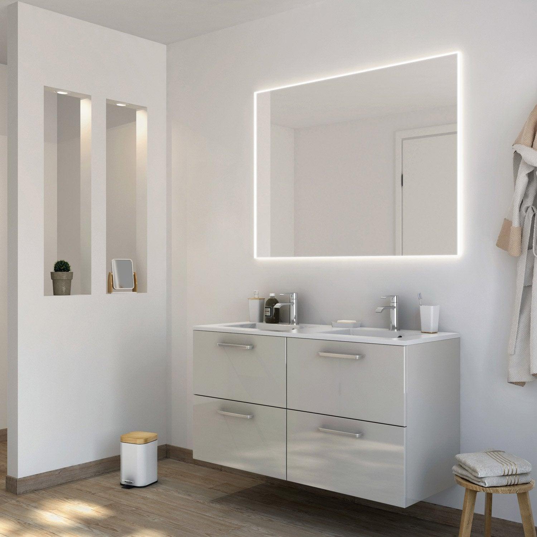 Salle de bain leroy merlin neo 20170930205628 for Meuble salle de bain marron