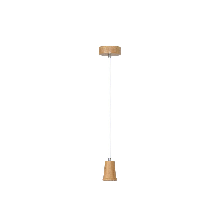 suspension e27 scandinave carmel bois bois 1 x 60 w inspire leroy merlin. Black Bedroom Furniture Sets. Home Design Ideas