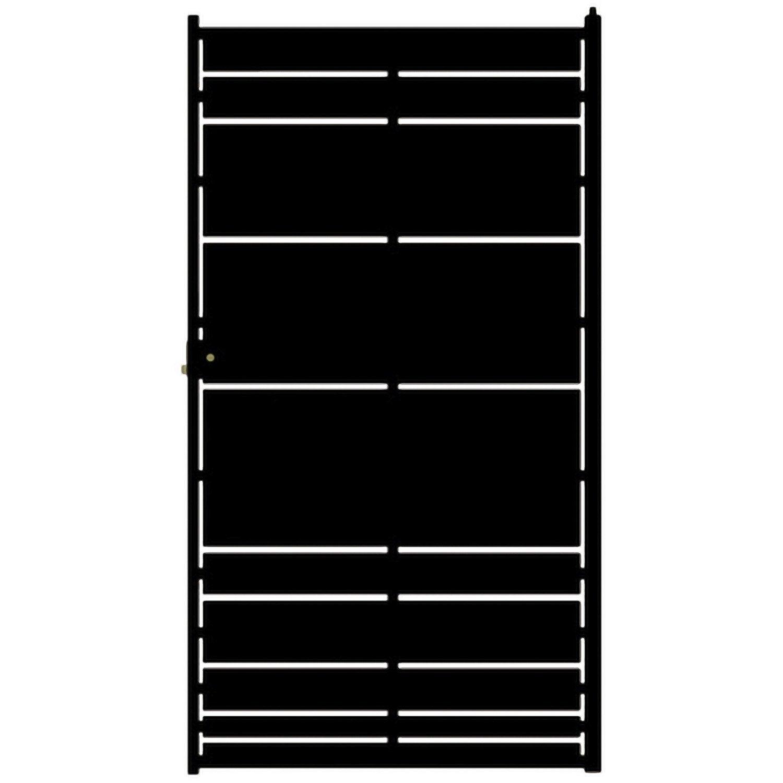 portillon battant en fer cassiop e x cm. Black Bedroom Furniture Sets. Home Design Ideas