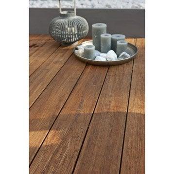 planche n o en bois bambou naturel naterial l 220 x l 14 cm x ep 20 mm leroy merlin. Black Bedroom Furniture Sets. Home Design Ideas