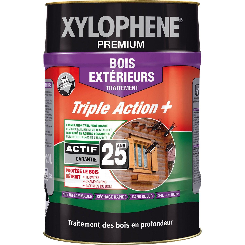 traitement bois ext rieur 25 ans xylophene premium 20 l leroy merlin. Black Bedroom Furniture Sets. Home Design Ideas