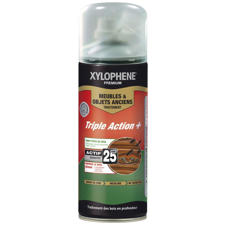 traitement bois meuble 25 ans xylophene premium 0 4 l leroy merlin. Black Bedroom Furniture Sets. Home Design Ideas