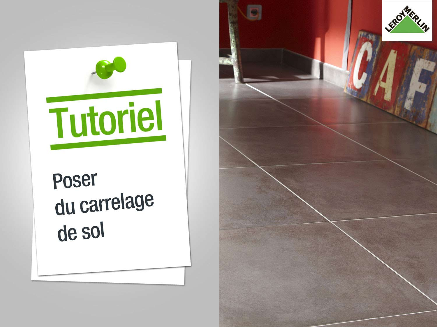 Que poser sur du carrelage for Couper carrelage pose