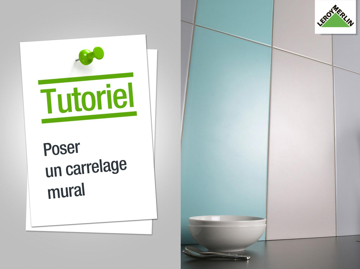 Comment poser un carrelage salle de bain for Pose carrelage sur carrelage mural
