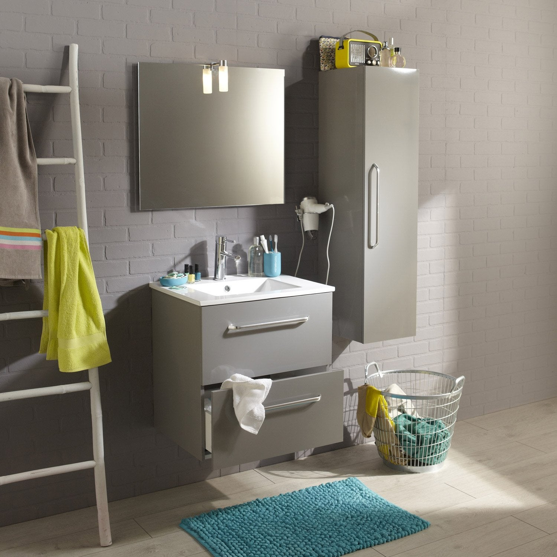 Galet salle de bain leroy merlin 20170826175607 for Meuble salle de bain gris leroy merlin
