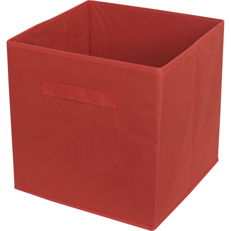 panier rangement rouge 24055 panier id es. Black Bedroom Furniture Sets. Home Design Ideas