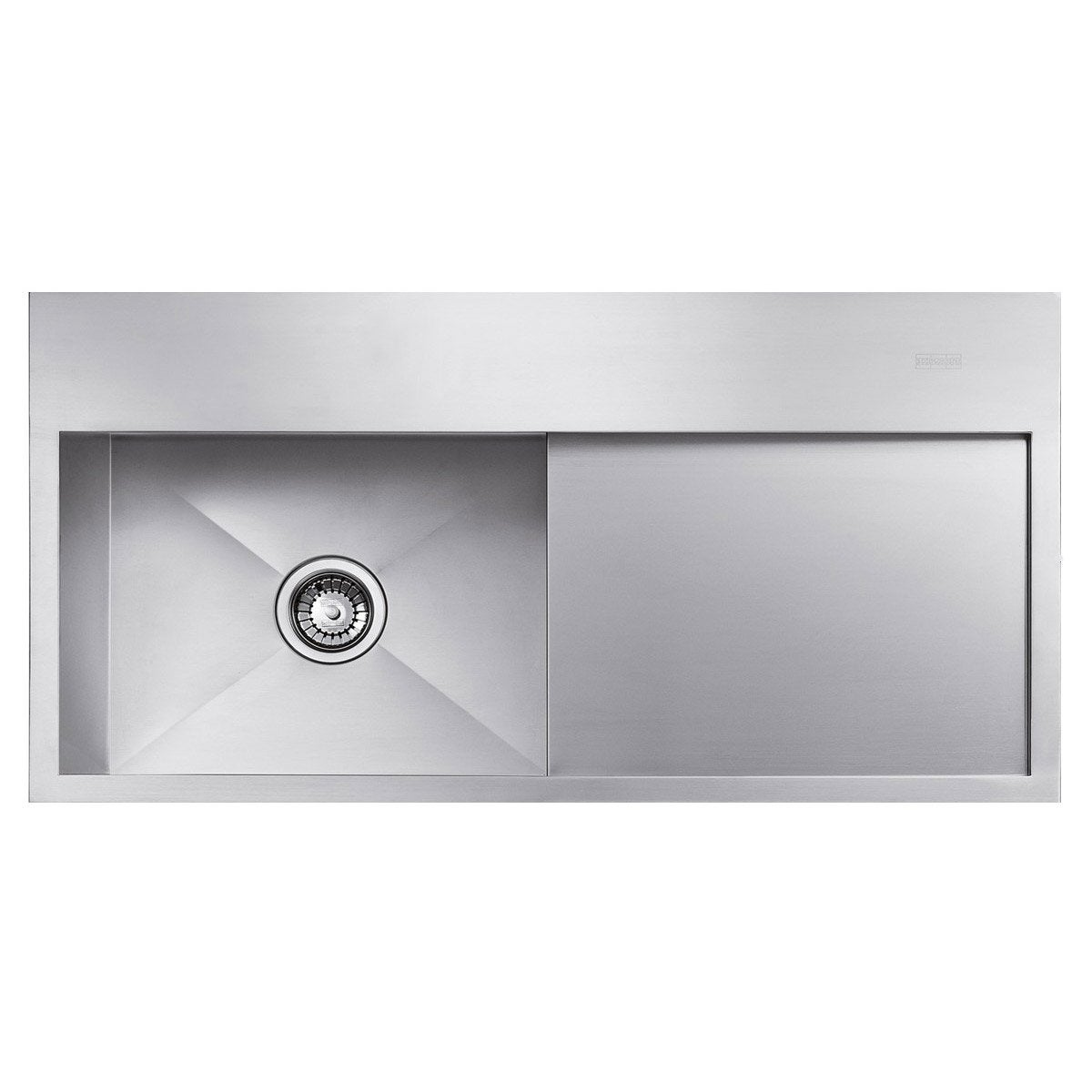 Evier inox leroy merlin maison design for Evier inox design
