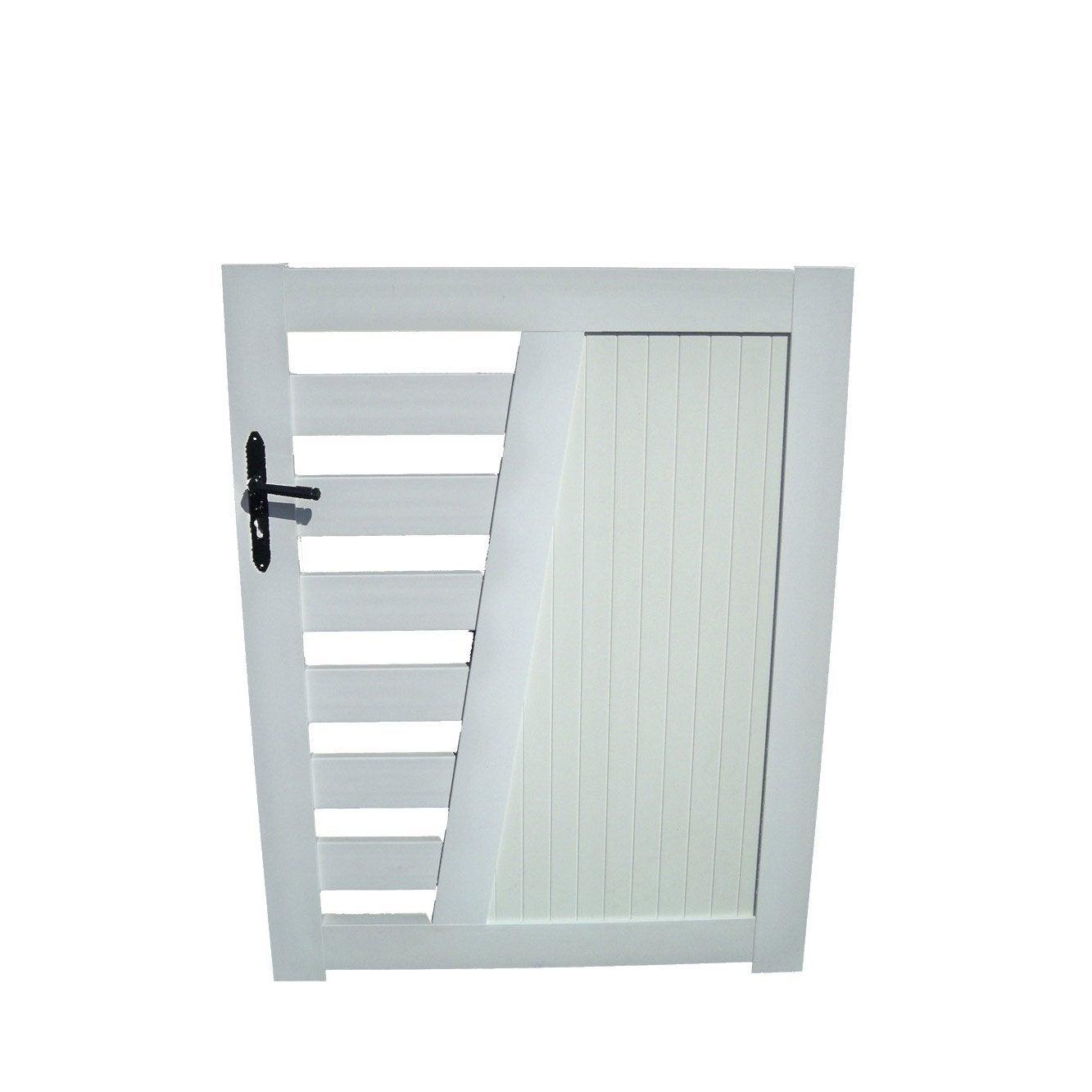 100 portail de jardin en alu portillon aluminium bois fer pvc leroy me - Portail bois leroy merlin ...