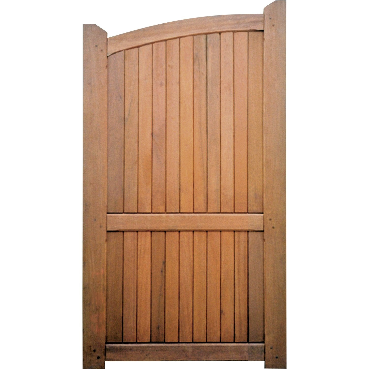 Portillon battant en bois biscarrosse cm leroy merlin for Portillon en pvc pas cher