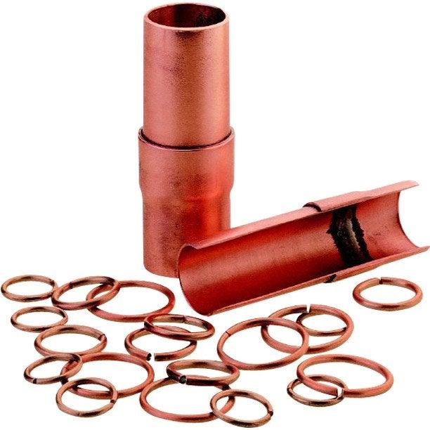 lot de 20 bagues de soudage cuivre phosphore 14 mm rothenberger leroy merlin. Black Bedroom Furniture Sets. Home Design Ideas