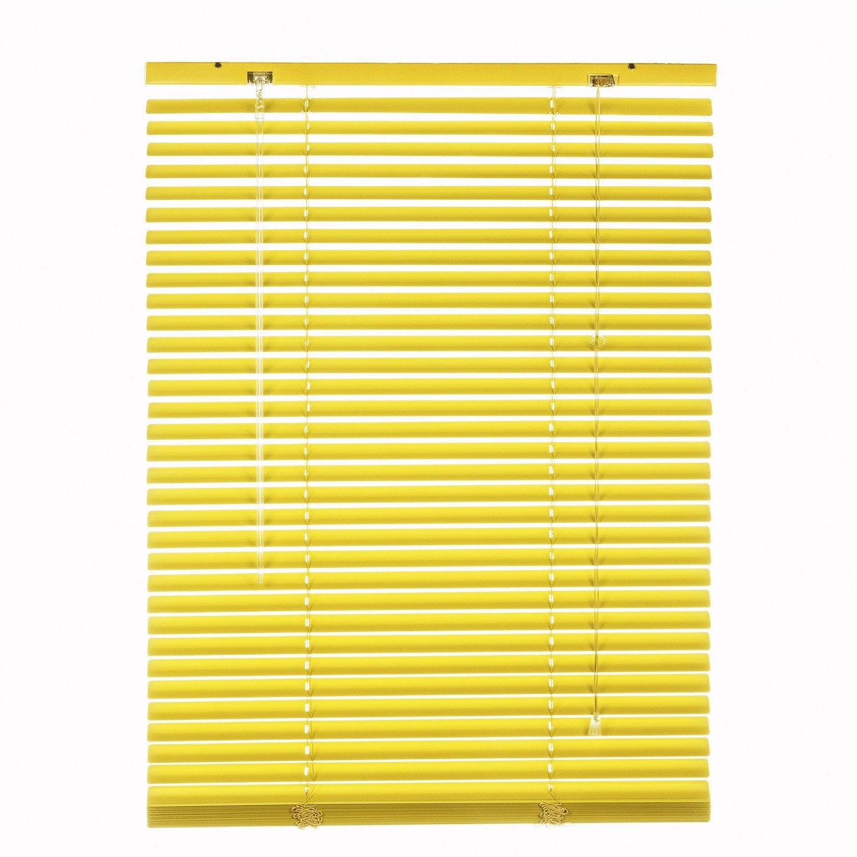 store v nitien aluminium inspire jaune anis n 4 40x130 cm leroy merlin. Black Bedroom Furniture Sets. Home Design Ideas