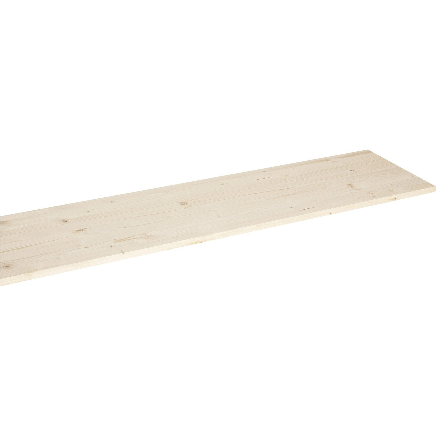 Tablette sapin lamell coll solid x p leroy merlin - Leroy merlin planche sapin ...