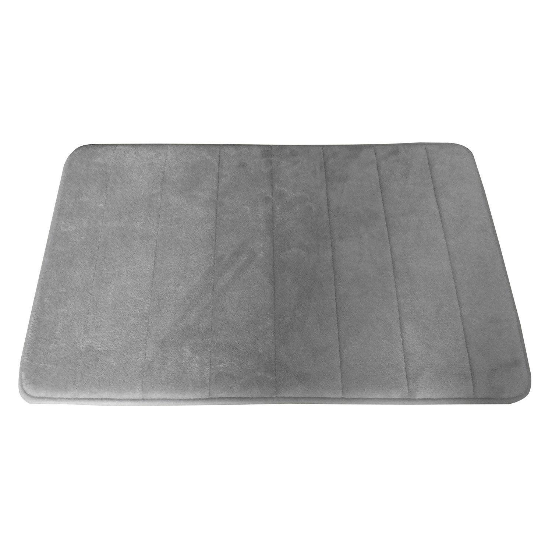 tapis de bain x cm cocoon sensea leroy merlin. Black Bedroom Furniture Sets. Home Design Ideas