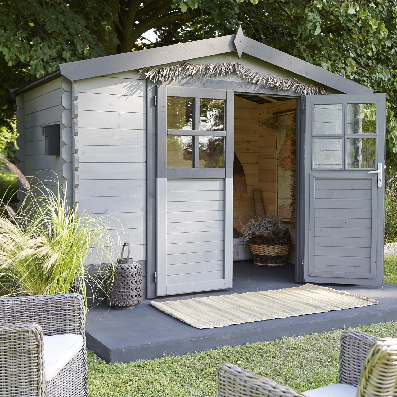 abri-de-jardin-bois-soleil-4-95-m2-ep-28-mm Unique De Abri De Jardin Bois Castorama Concept