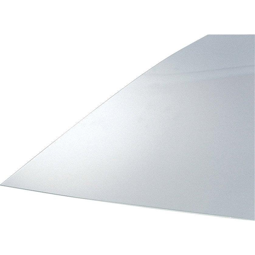 plaque polystyr 232 ne transparent lisse l 70 x l 50 cm x ep 1 2 mm leroy merlin