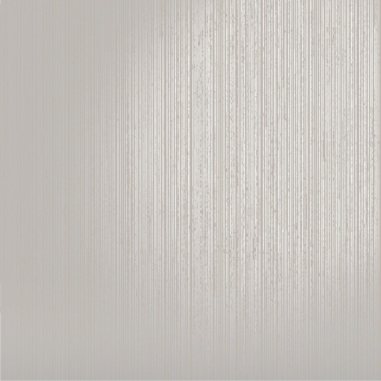 Papier Peint Gris Argent Leroy Merlin : Papier peint uni ligne argent gris clair leroy merlin