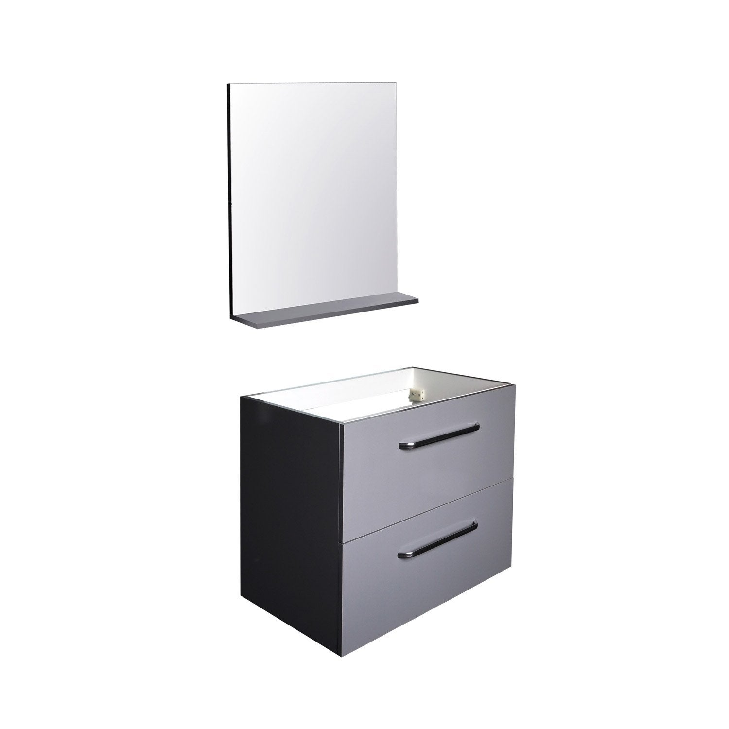 Miroir leroy merlin conceptions architecturales for Meuble sous vasque leroy merlin