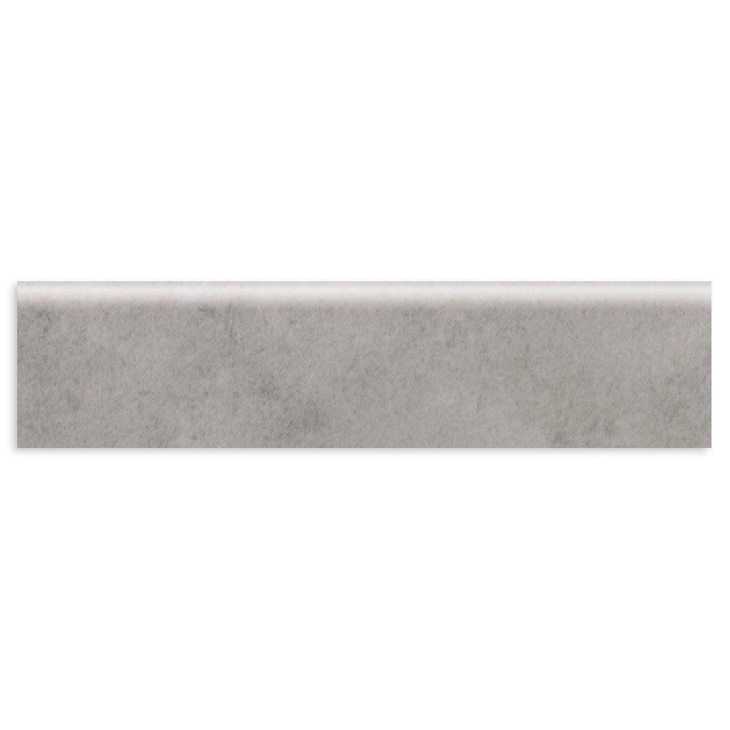 Lot de 4 plinthes assisi gris clair l 8 x cm leroy for Plinthe bois sur plinthe carrelage
