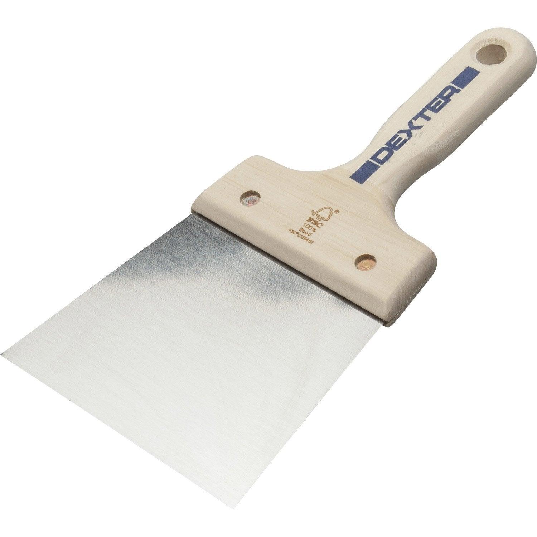 Couteau enduire acier trait 12 cm leroy merlin for Panneau exterieur a enduire
