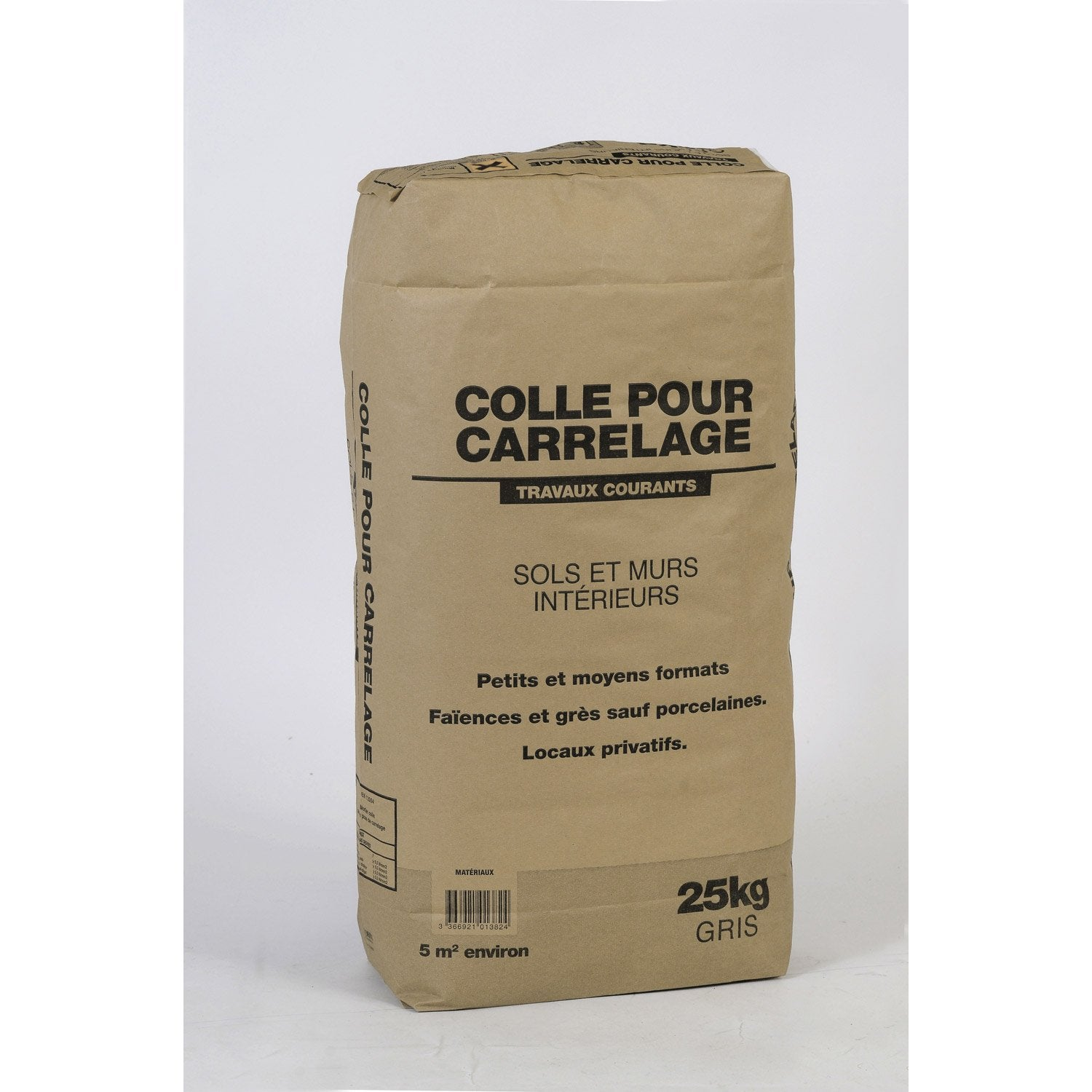 Mortier colle int rieur 1er prix gris 25kg leroy merlin - Ciment colle leroy merlin ...