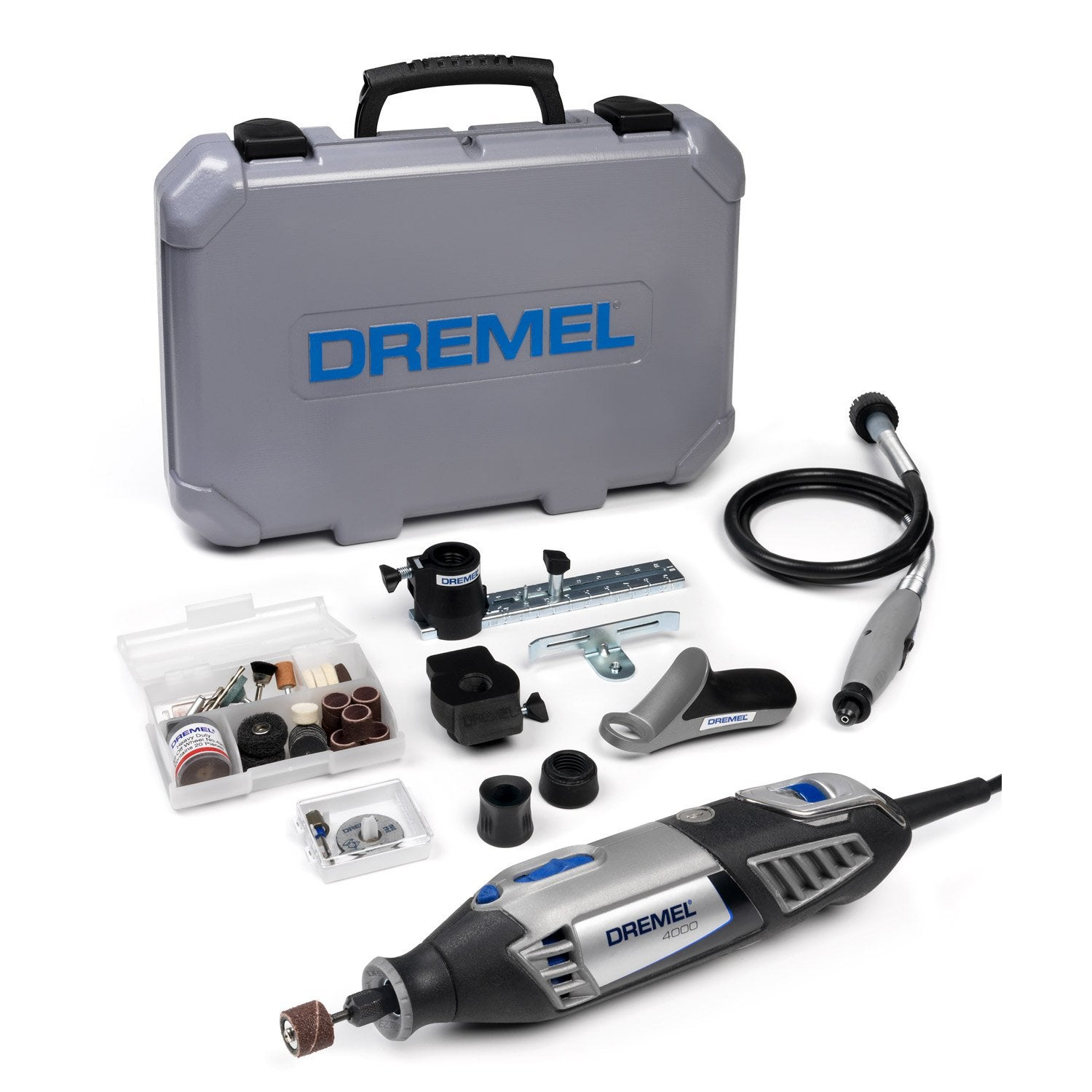 minioutillage dremel 4000 series 175w 65 accessoires leroy merlin. Black Bedroom Furniture Sets. Home Design Ideas