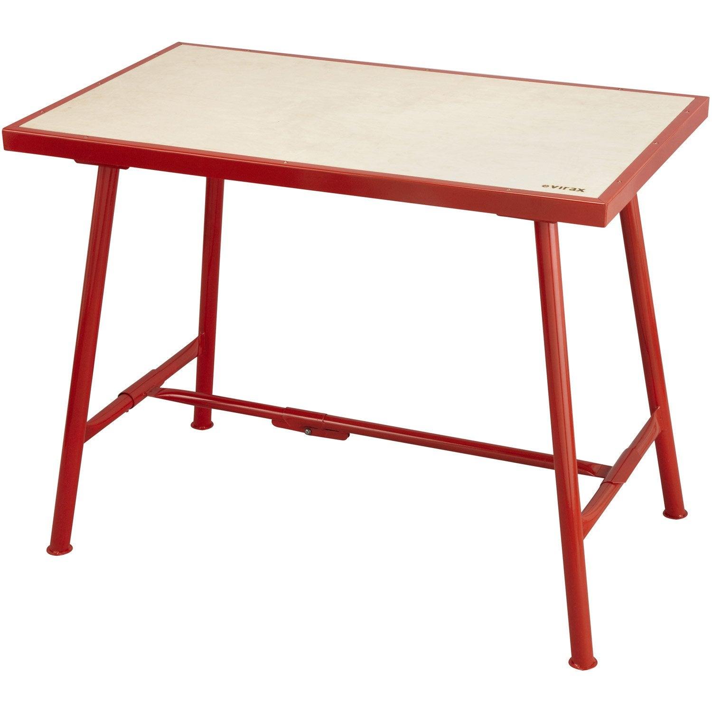 Table de monteur standard virax leroy merlin for Banco da lavoro leroy merlin