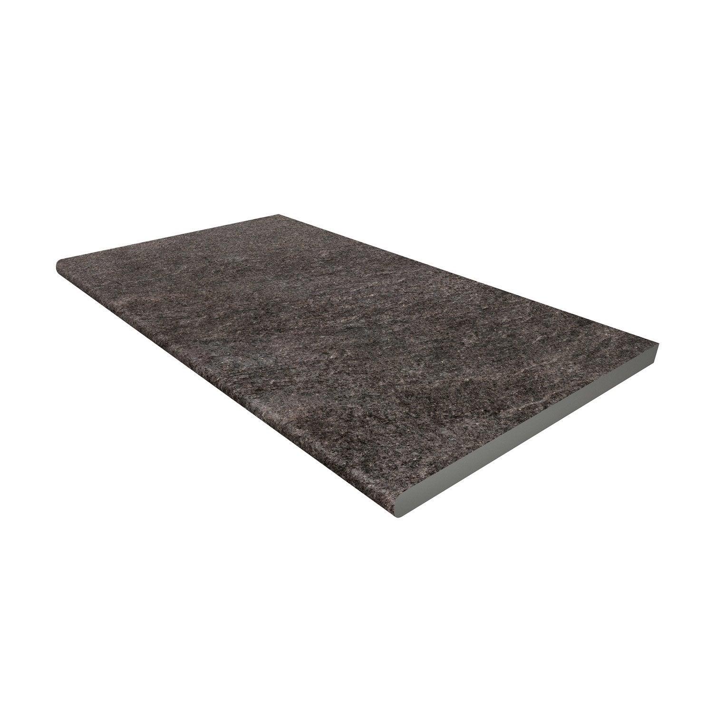 margelle siena en gr s c rame gris fonc leroy merlin. Black Bedroom Furniture Sets. Home Design Ideas