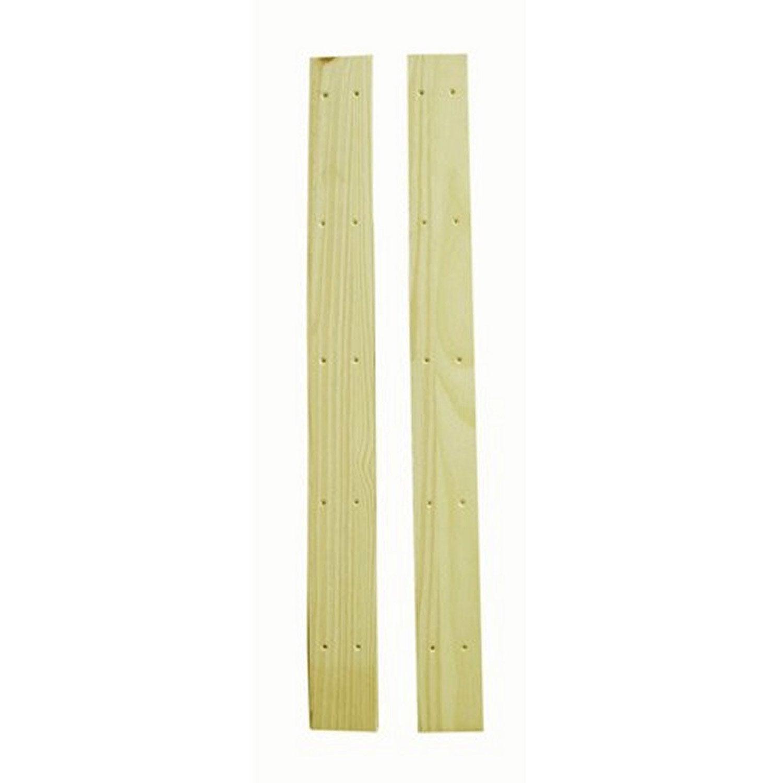 Lot de 2 montants pin spacea l9xh94xp1 8 cm leroy merlin - Leroy merlin 94 ...
