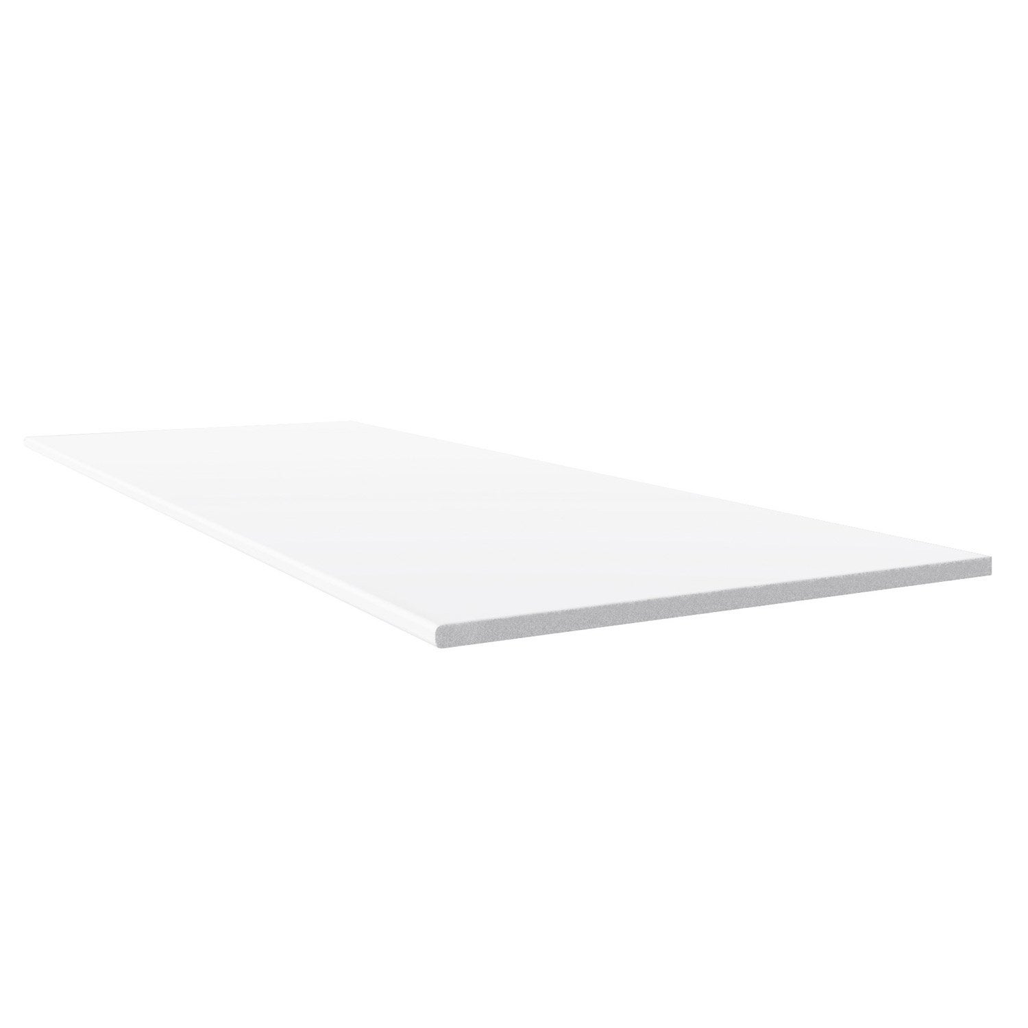 Planche plate pvc freefoam faza solid blanc 9003 3 m - Decoupe planche leroy merlin ...