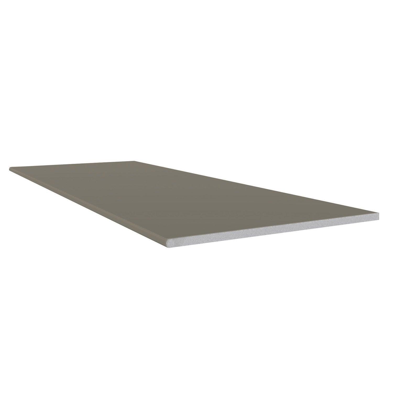 Planche plate pvc freefoam faza solid limon 3 m leroy - Decoupe planche leroy merlin ...