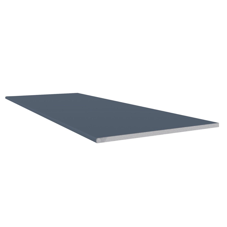 planche plate pvc freefoam faza solid bleu 3 m leroy merlin. Black Bedroom Furniture Sets. Home Design Ideas