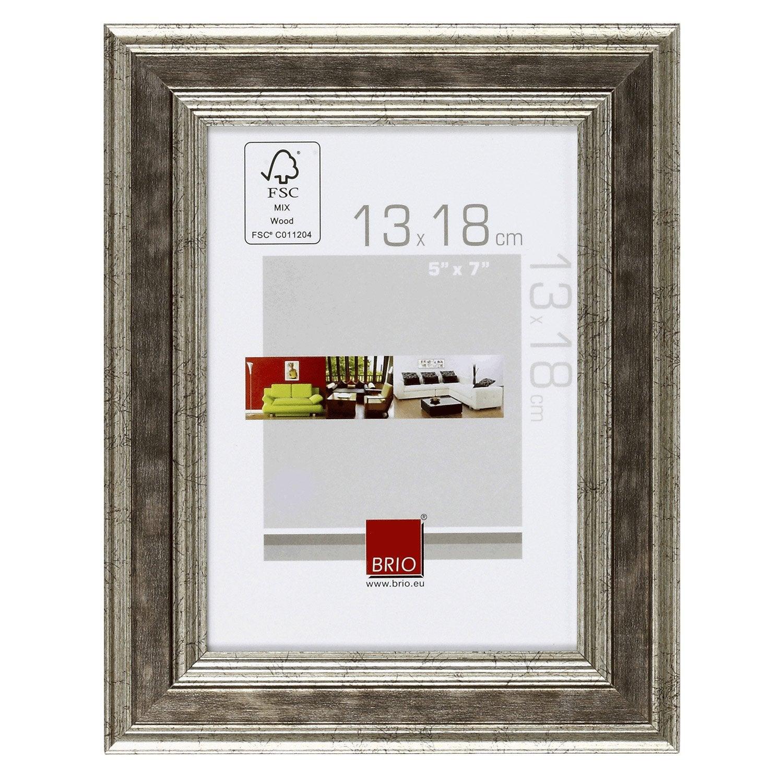Cadre ga a 13 x 18 cm argent leroy merlin - Leroy merlin cadre photo ...