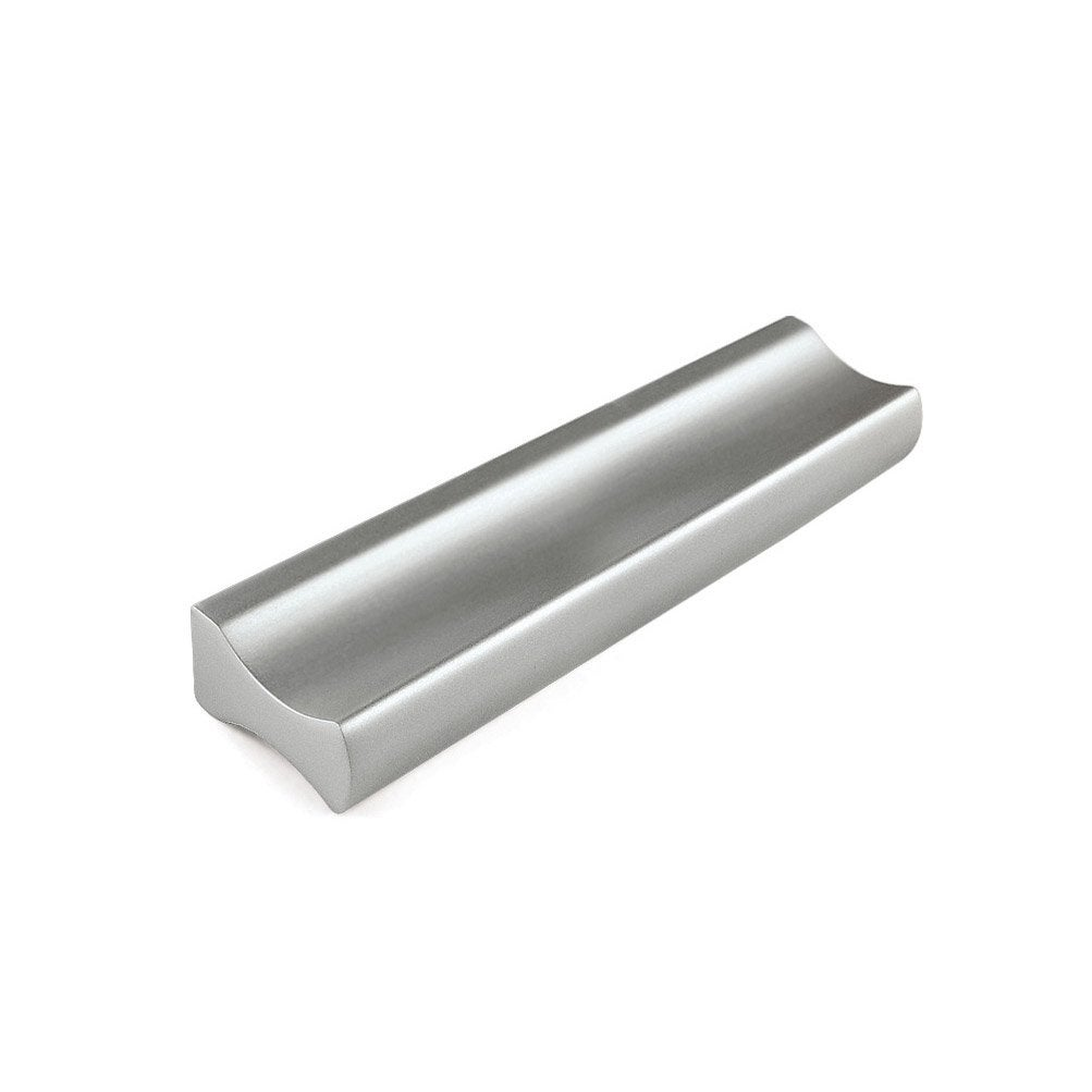 Poign e de meuble profil aluminium anodis entraxe 96 mm for Poignee de porte meuble cuisine