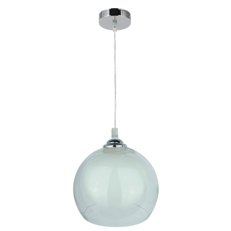 suspension lata inspire blanc 40 watts diam 20 cm. Black Bedroom Furniture Sets. Home Design Ideas