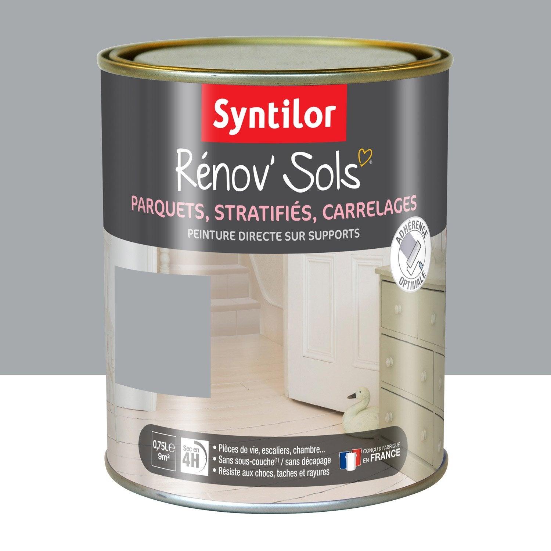 peinture sol int rieur renov 39 sol syntilor gris cendr 0. Black Bedroom Furniture Sets. Home Design Ideas