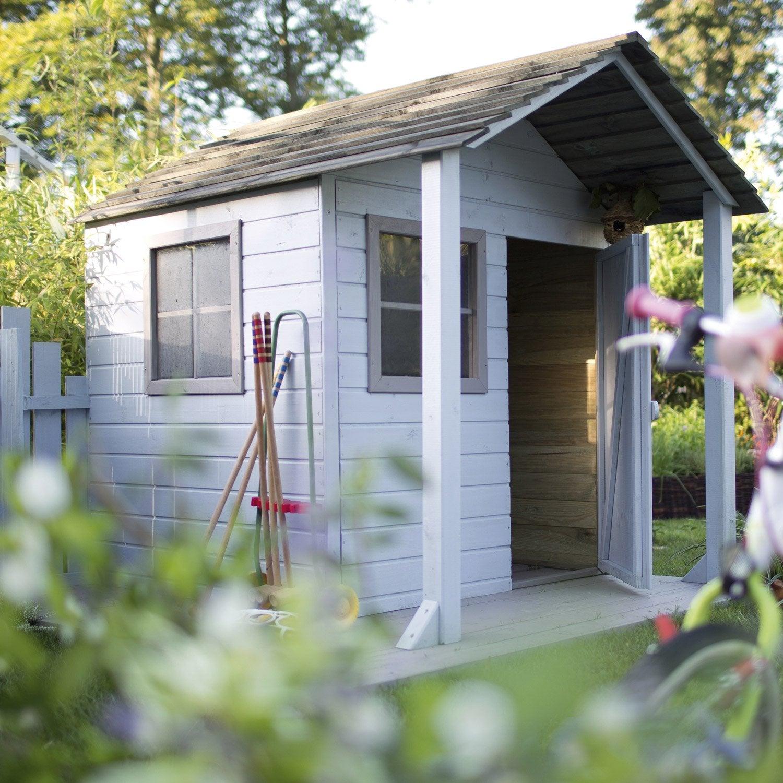 Maisonnette bois leroy merlin - Cabane de jardin en bois leroy merlin ...
