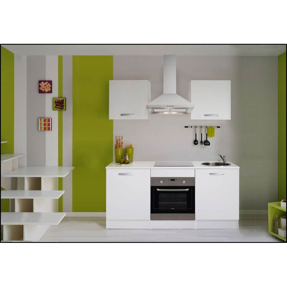 Meuble de cuisine blanc leroy merlin - Kitchenette leroy merlin ...