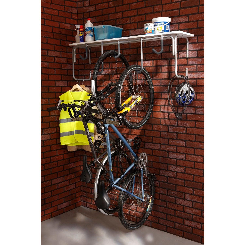 Support pour 5 vélos MOTTEZ, H.65 x l.130 x P.36 cm  Leroy Merlin