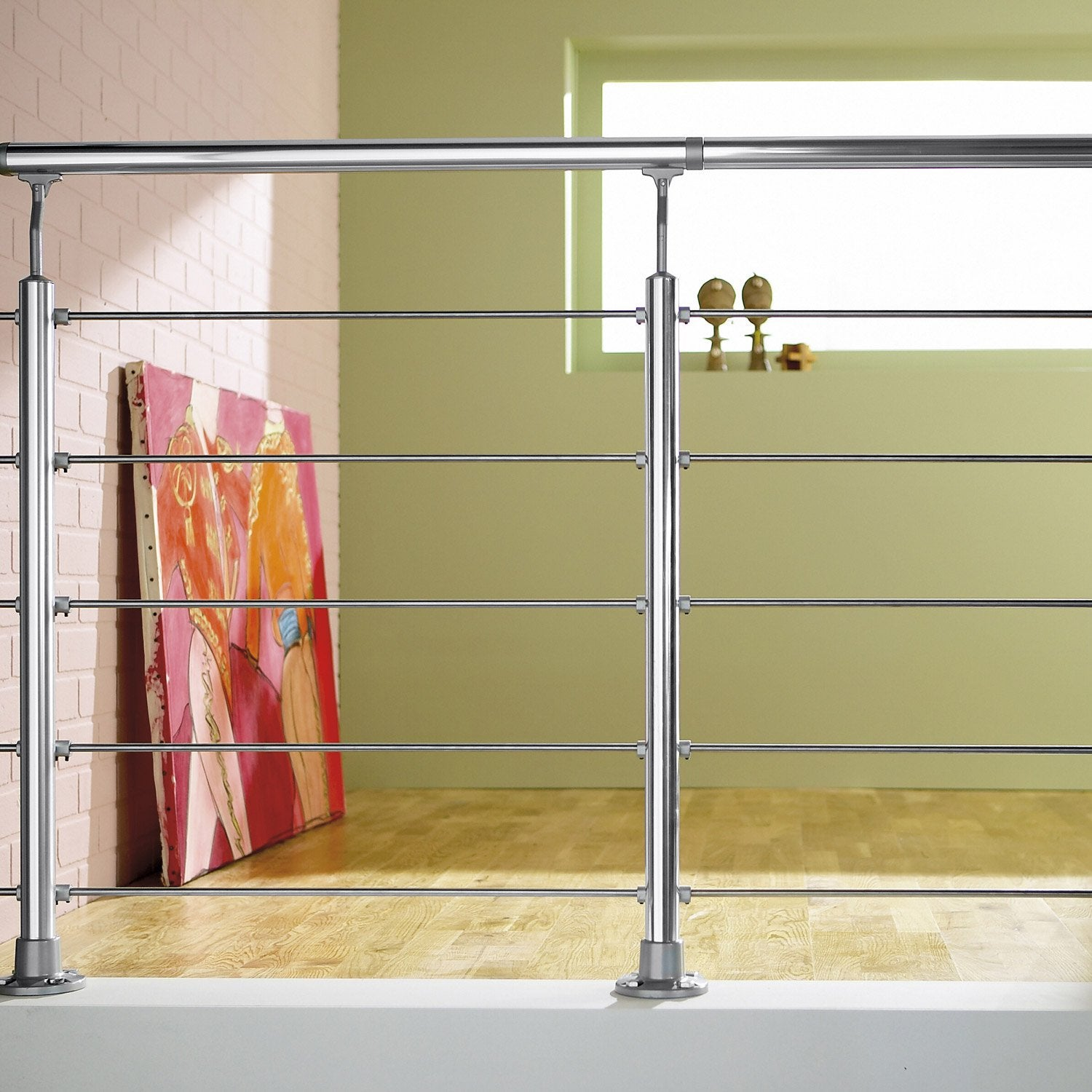 Balustrade aluminium exterieur leroy merlin mouvement for Balustrade aluminium exterieur