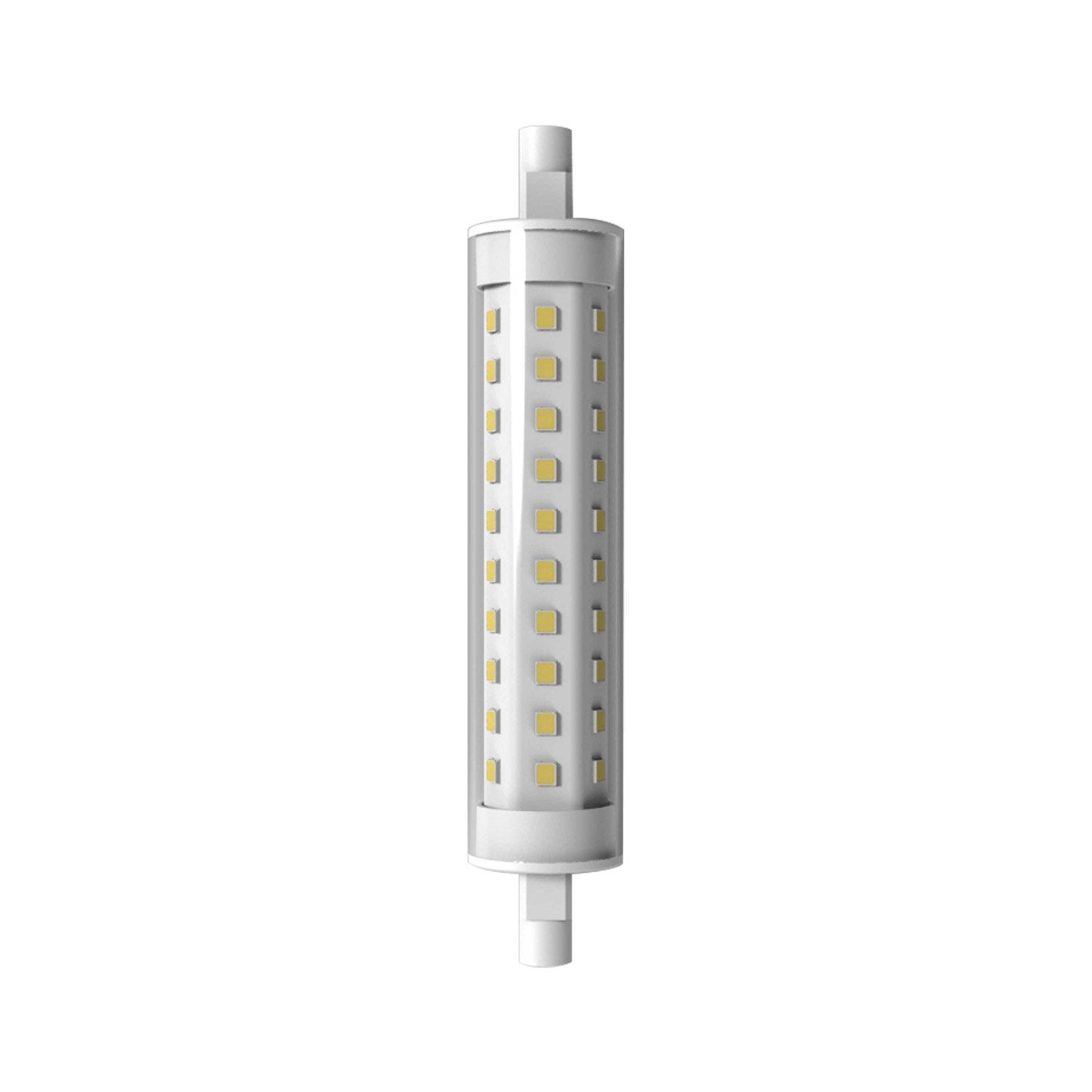 Ampoule tube led 9w quiv 75w r7s 118mm 4000k lexman for R7s led 78mm leroy merlin