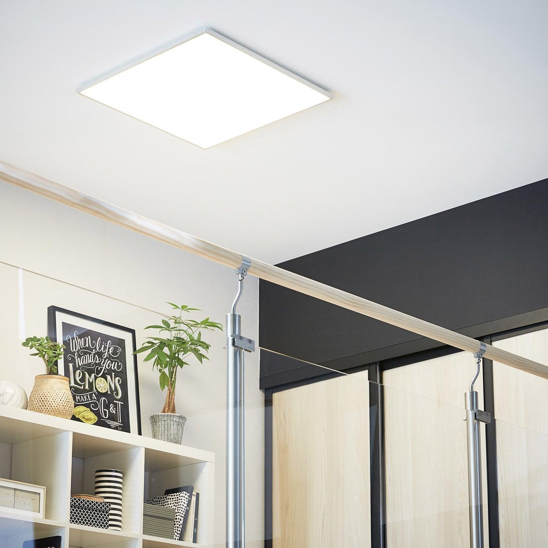 panneau led int gr e gdansk inspire carr 60 x 60 cm 45 w. Black Bedroom Furniture Sets. Home Design Ideas